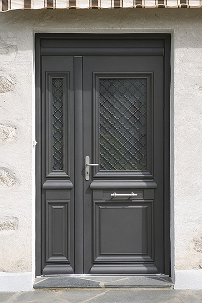 Portes d 39 entr es archives lelandais fermetures for Porte de garage alinea bel m