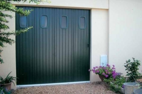 Portes de garage coulissantes 1 lelandais fermetures for Garage ford st maur des fosses