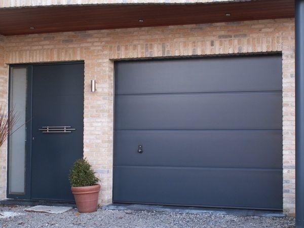 Portes de garage sectionnelles 3 lelandais fermetures lelandais fermetures - Portes garage sectionnelles ...