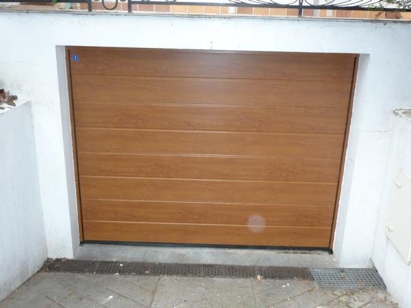 Portes de garage sectionnelles 7 lelandais fermetures lelandais fermetures - Portes garage sectionnelles ...