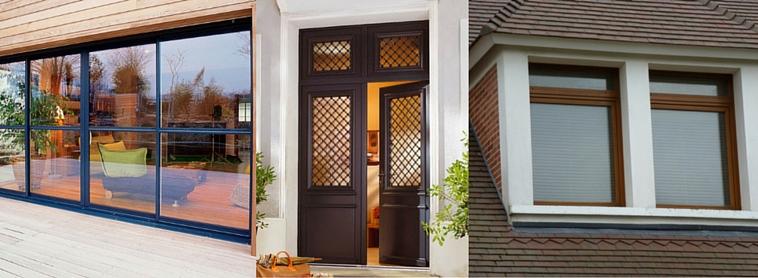 Bannière portes et fenêtres