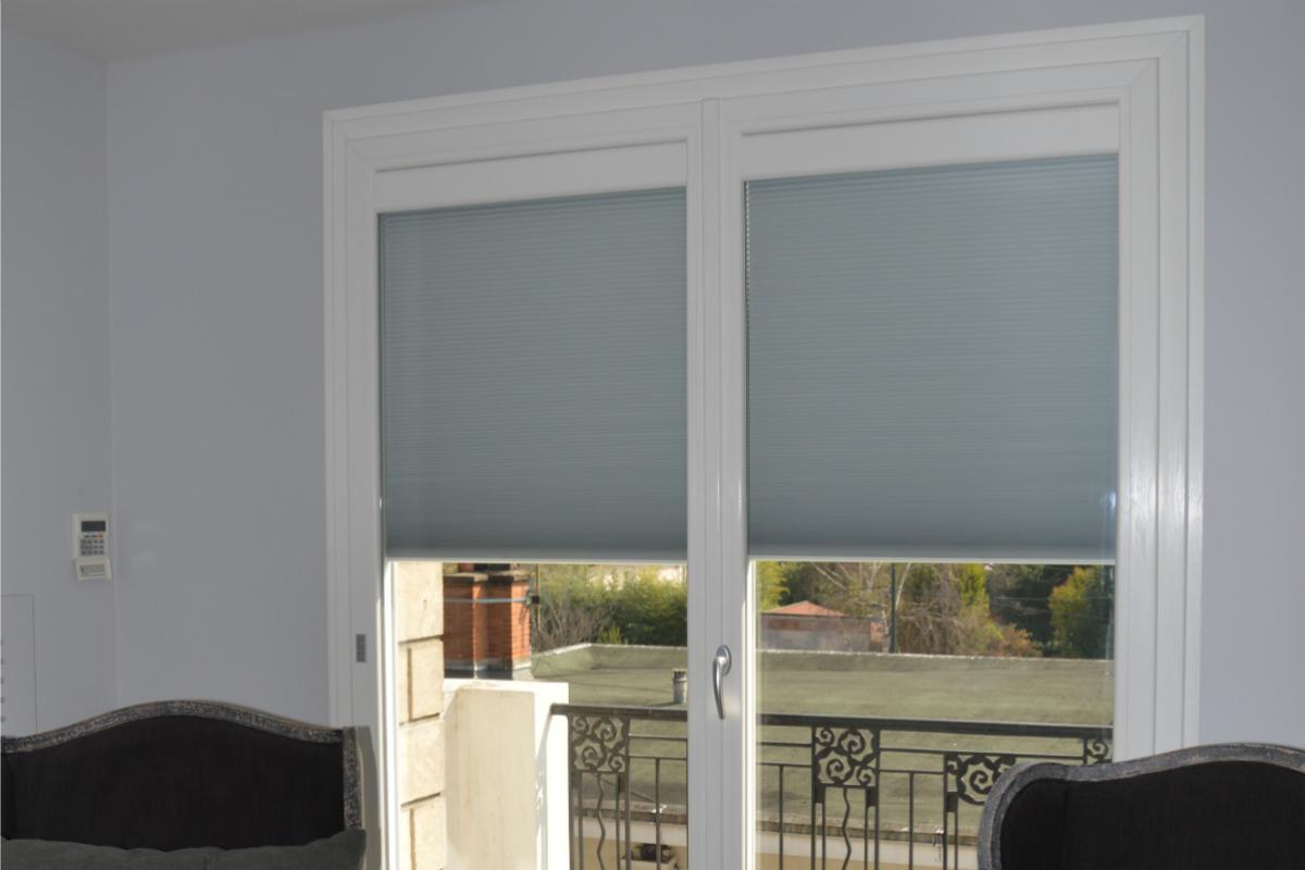 Fenêtre avec volet intégré