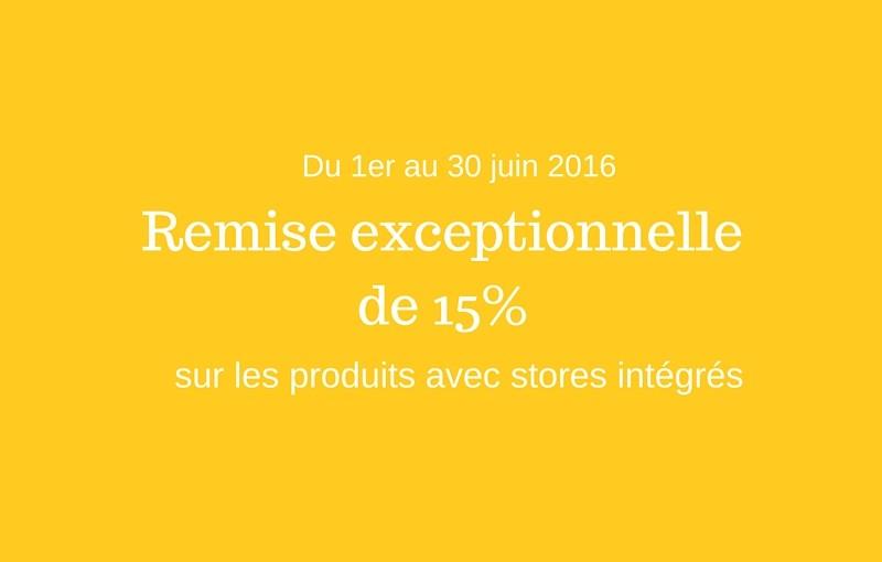 Remise Internorm 15%