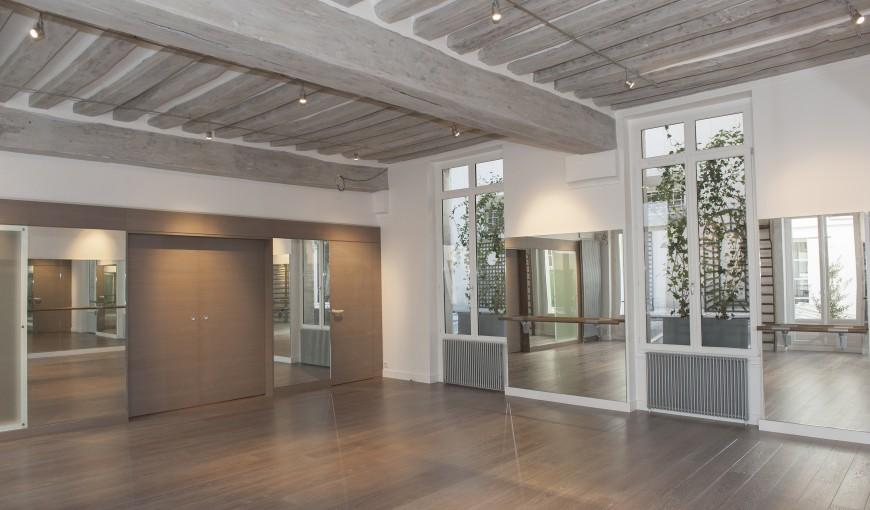 chantier du mois salle de danse priv e lelandais fermetures lelandais fermetures. Black Bedroom Furniture Sets. Home Design Ideas